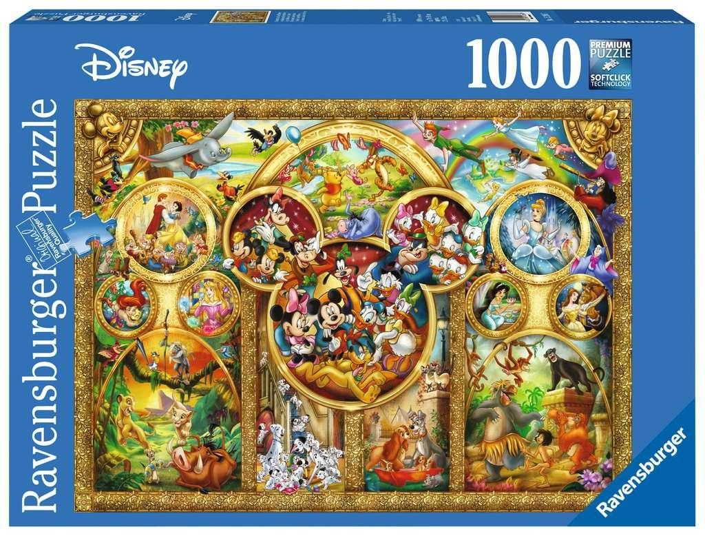 Ravensburger 15266-The Best Disney Themes 1000pc